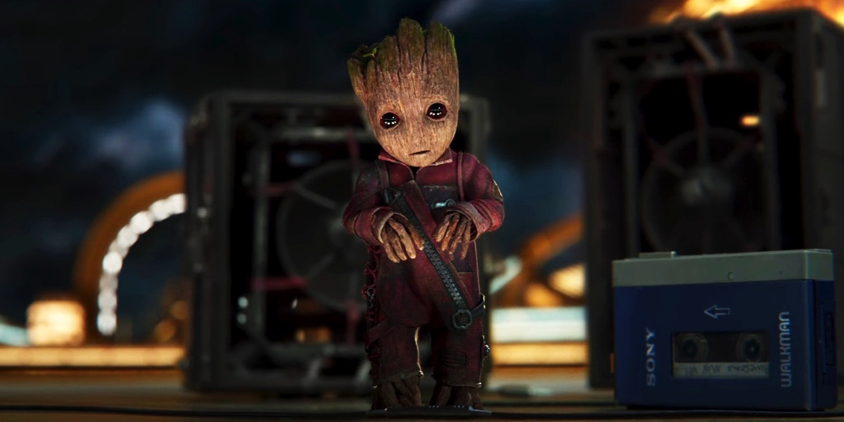 Guardians Galaxy 2 Baby Groot Trailer